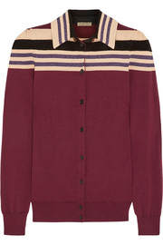 Bottega Veneta Striped wool-blend cardigan