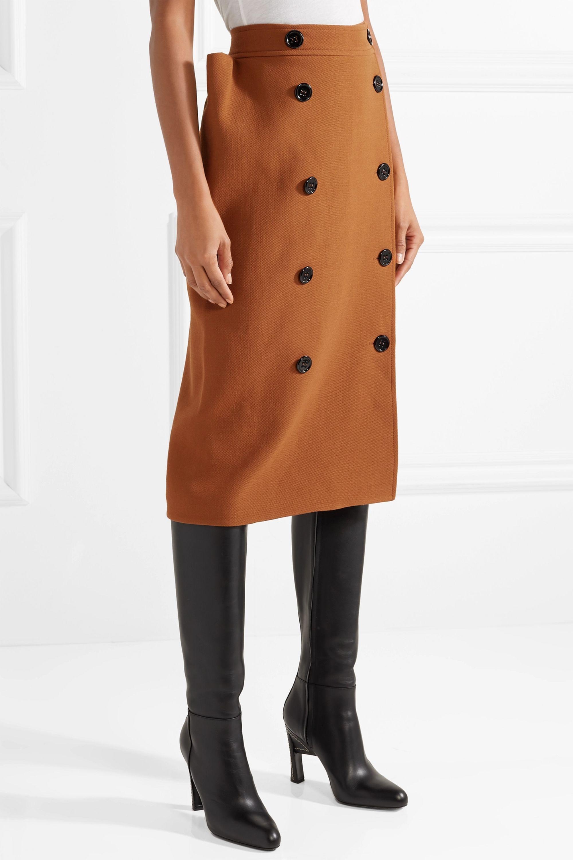 Bottega Veneta Wool midi skirt