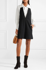 Wool-jersey playsuit