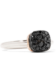 Nudo 18-karat gold diamond ring