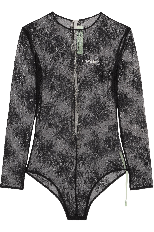 Off-White Lace bodysuit