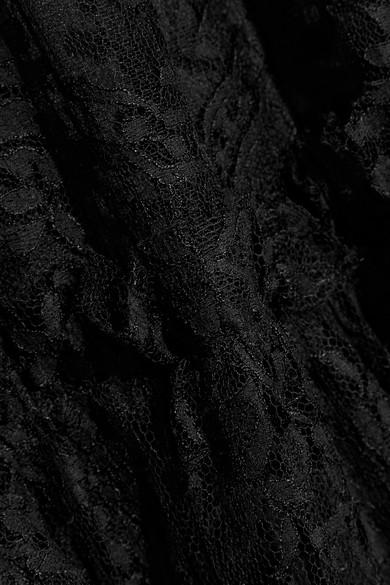 Dolce & Gabbana Robe aus schnurgebundener Spitze