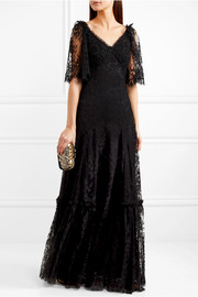 Dolce & Gabbana Corded lace gown