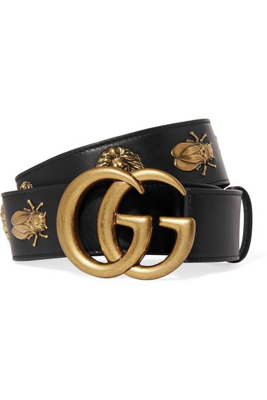 Embellished leather belt Gucci UvFrdc