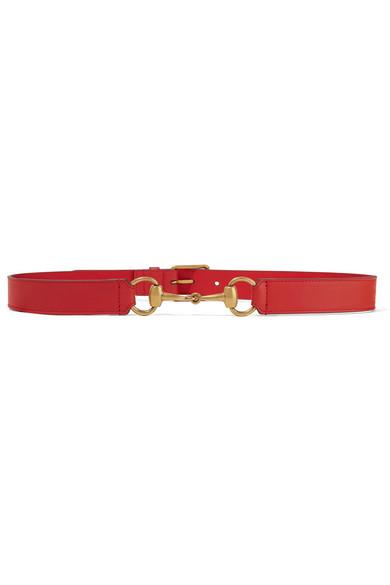 ffadcda891990 Gucci | Horsebit-detailed leather belt | NET-A-PORTER.COM