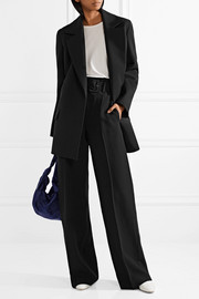 Grafny oversized wool-felt blazer