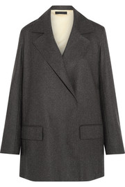 The Row Grafny oversized wool-blend felt blazer