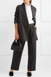 Grafny oversized wool-blend felt blazer