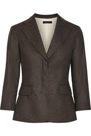 The Row Spattan mélange wool-blend felt blazer
