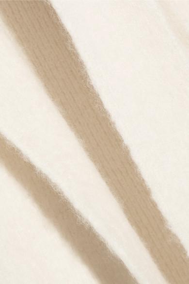The Row Naido Cardigan aus einer gebürsteten Kaschmirmischung