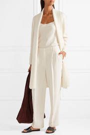 Firth silk-crepe wide-leg pants