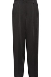 Firth satin-crepe wide-leg pants
