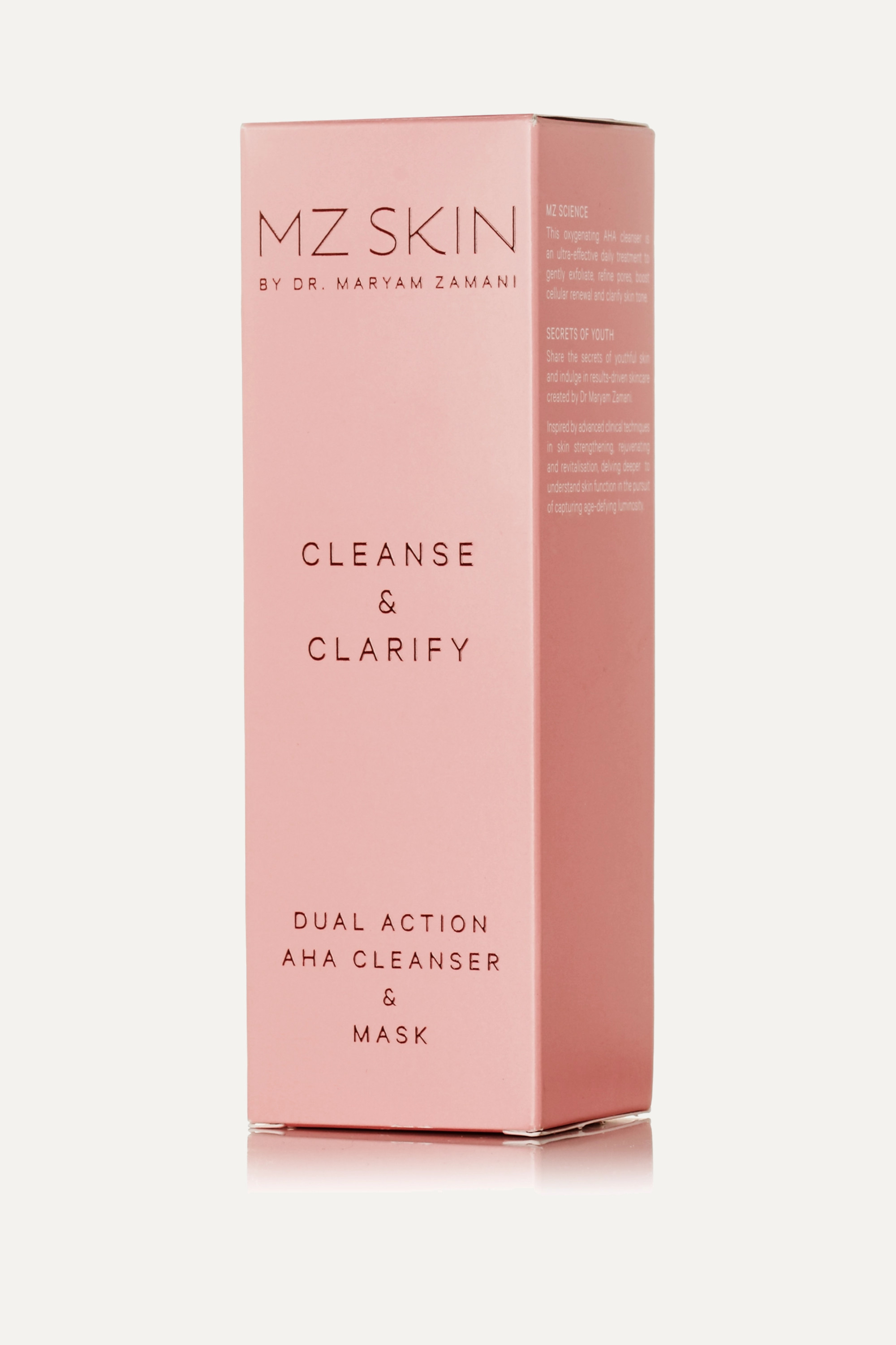 MZ Skin Cleanse & Clarify Dual Action AHA Cleanser & Mask, 100 ml – Cleanser