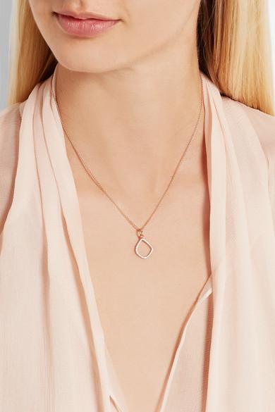 68780045ed0fcf Monica Vinader. Riva Kite rose gold vermeil diamond pendant. £125. Zoom In