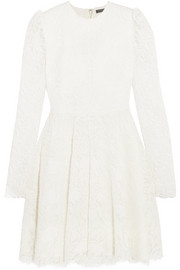 Alexander McQueen Corded lace mini dress