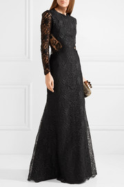 Alexander McQueen Corded lace gown
