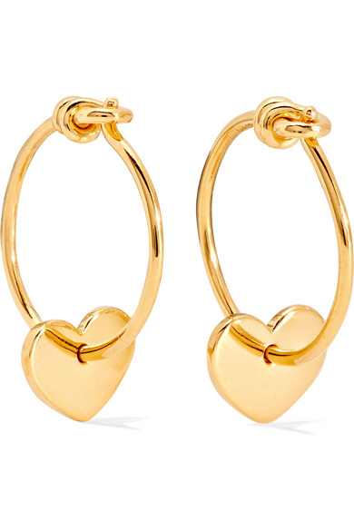 II - Gold-plated Earrings