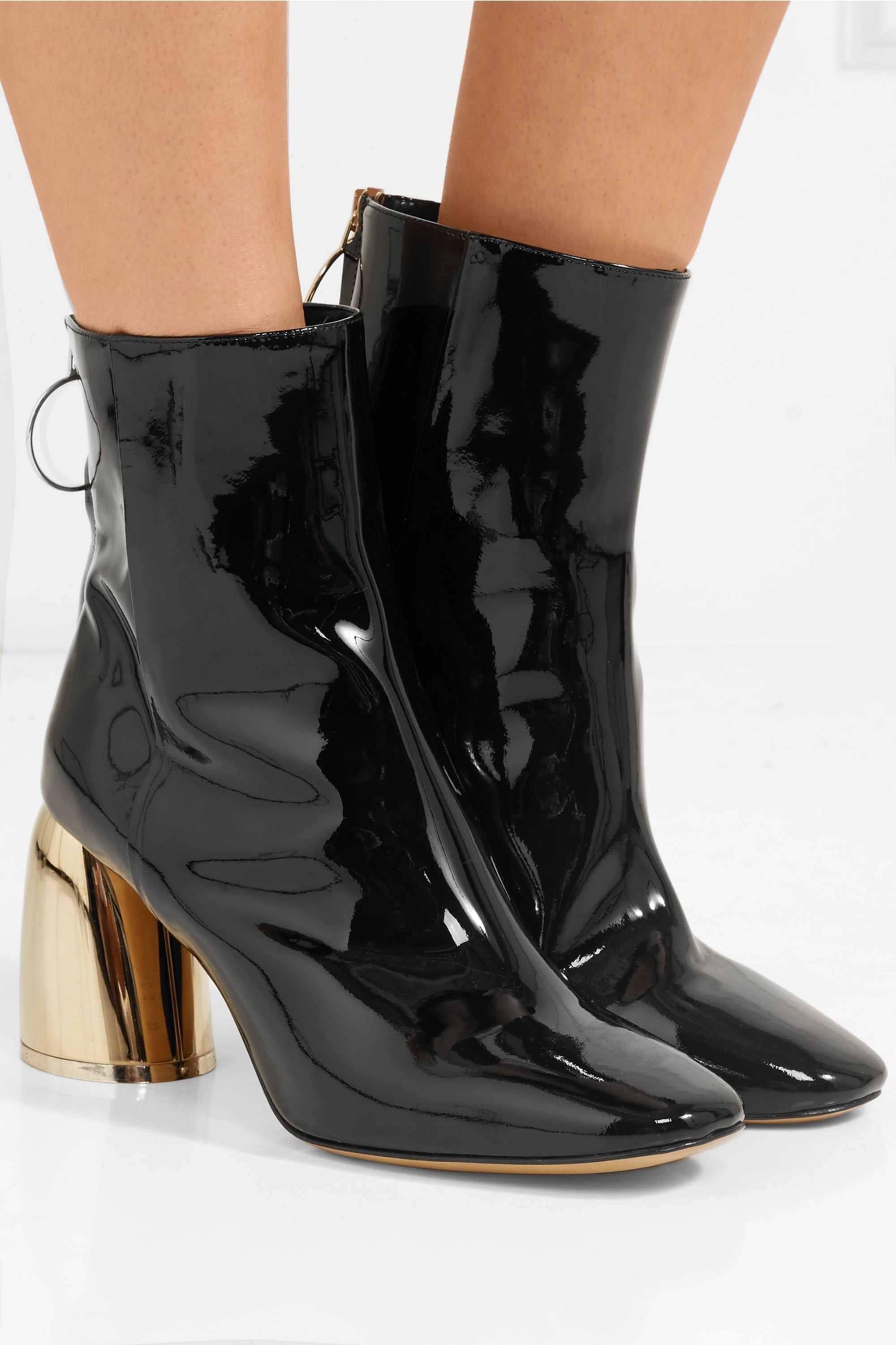 Ellery Patent-leather ankle boots