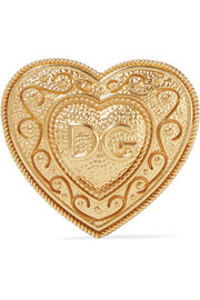 Dolce & Gabbana Gold-plated brooch