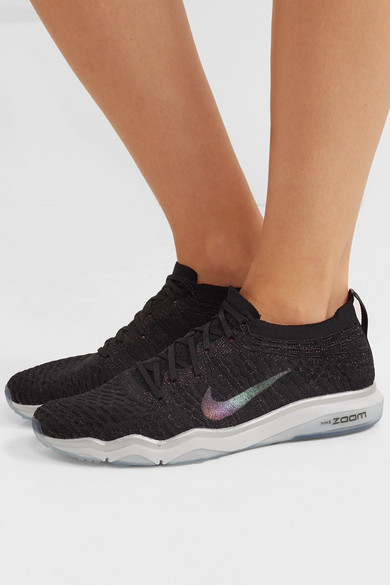 Nike Air Zoom Fearless Flyknit Sneakers mit Glitter-Finish
