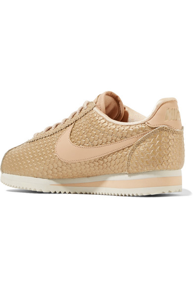 Nike Cortez SE Sneakers aus Metallic-Kunstleder in Eidechsenoptik Spielraum Niedriger Preis RER7w