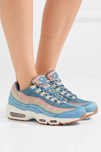 sélection premium 6c378 d6c77 Air Max 95 calf hair, suede and mesh sneakers