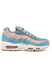 Air Max 95 calf hair, suede and mesh sneakers