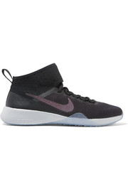 Nike Air Zoom Strong 2 metallic mesh and rubber sneakers