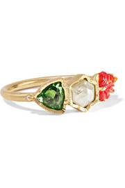Brooke Gregson Maya 18-karat gold multi-stone ring