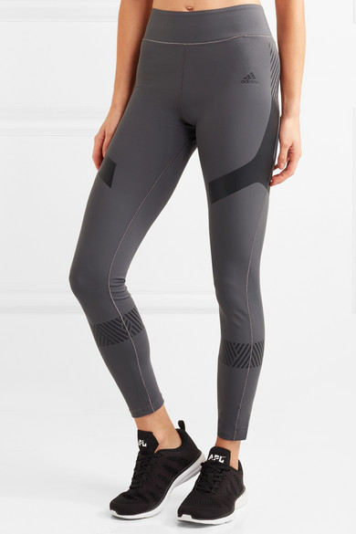 adidas Performance Ultimate bedruckte Leggings aus Climalite®-Stretch-Material