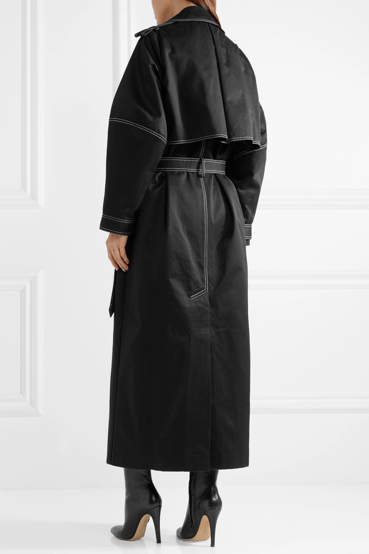 Michael Lo Sordo Cotton-twill trench coat