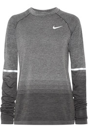 Nike Paneled Dri-FIT stretch-jersey top