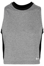 Nike Breathe cropped Dri-FIT stretch-jersey tank