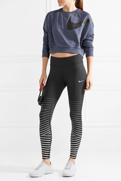 Freies Verschiffen Heißen Verkauf Nike Power Epic Lux Leggings aus Dri-FIT-Stretch-Material mit Streifen in Metallic-Optik Angebote Zum Verkauf Billig Verkaufen Niedrigsten Preis WxtZEjH