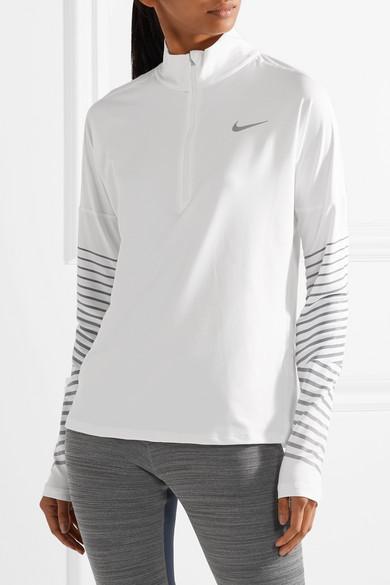 Nike Flash Element Oberteil aus Dri-FIT-Stretch-Material mit Metallic-Streifen