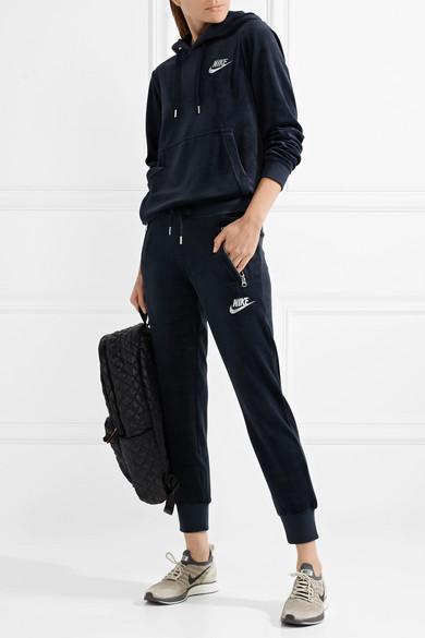 8014f2d1a42 Nike | Velour track pants | NET-A-PORTER.COM