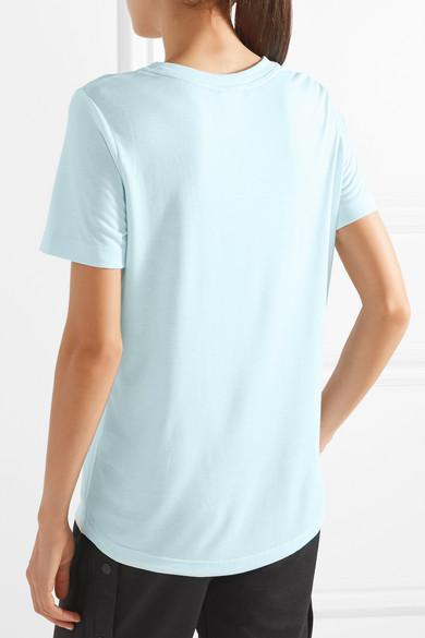 Nike Essential bedrucktes T-Shirt aus Stretch-Jersey