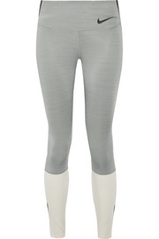 Legendary color-block Dri-FIT stretch leggings