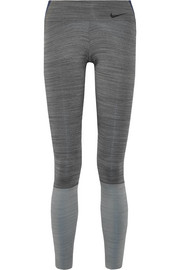 Nike Legendary color-block Dri-FIT stretch leggings
