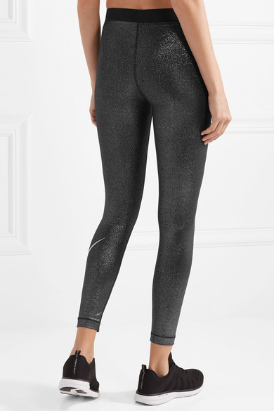 Nike Sparkle Pro Cool Leggings aus Dri-FIT-Stretch-Lamé