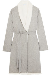 Eberjey Alpine fleece-lined modal robe