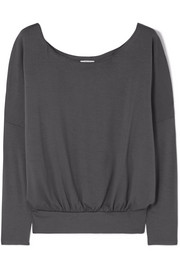 Umma stretch-modal jersey top