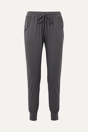 Umma stretch-modal jersey track pants