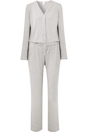 Maya stretch-modal jersey jumpsuit
