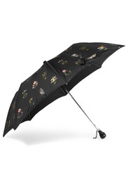 Floral-print shell umbrella