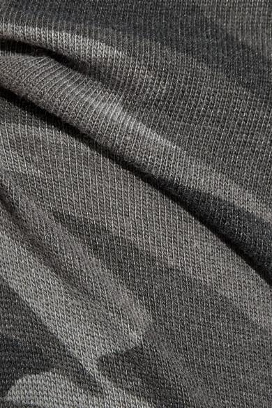 Splendid Jogginghose aus Stretch-Jersey mit Camouflage-Print