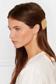 Egg gold vermeil hairclip