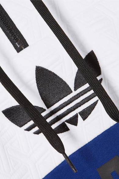 Adidas Originals Hoody Embossed Jersey