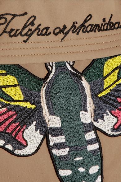 Gucci Trenchcoat aus Gabardine aus einer Baumwollmischung mit Applikation Billig Verkauf Ausgezeichnet Zuverlässig Zu Verkaufen Pick Ein Besten Zum Verkauf Vorbestellung wyubZJBMZq