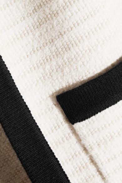 Gucci Cardigan aus Tweed mit Besätzen aus Rippstrick Limitierte Auflage Online-Verkauf LAEIz